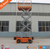 Movable Scissor Lift Platform Delivery site