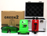 VH88 GREEN BEAM LASER LEVEL TWO LINES