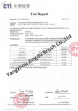 Test Report of brush filament for American Market