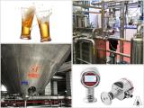 Sanitary pressure transmitter in beer sterilization equipment