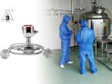 Hygienic pressure transmitter for pharmaceutical industry