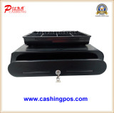 Large size cash drawer with round edge Black/Red/Sky blue