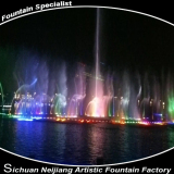 River Floating 3D Fountains