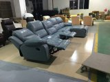 L shape recliner sofa