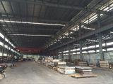 Steel sheet factory overview