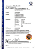 TUV and GS certification for LED ceiling down light