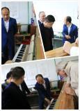 Carod piano Customer visiting in Italy 2016