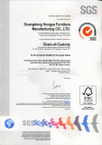 FSC Forest Certified Approved by SGS Office Furniture