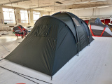 Black 2 Room Family Tent in stock for 50 pcs without Logo