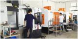 View of CNC machining