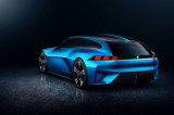 Peugeot Instinct concept car driving hybrid