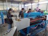 Iran customer visiting for steel grating welding machine