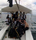 Our employees are diving in the Philippines