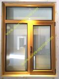 Teak Wood Aluminium Window