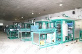 Automatic high speed blister vacuum forming machine production