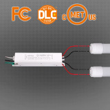 AC 347V input T8 led tube for US market