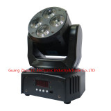 2016 Newest product 4pcs 10w RGBW 4in1 led mini moving head light