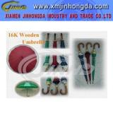 Wooden Straight Umbrella_JHDS0013