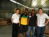 South Africa customer visit