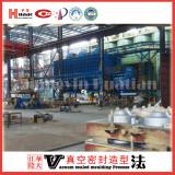 The brake hub casting production line