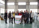 Welcome Thailand delegation to Jp Balancing Machine Company
