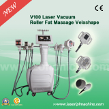 Professional cellulite massager suction with vacuum+RF+roller+cavitation V100