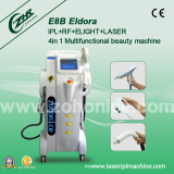 Ipl rf nd yag q switched laser hair removal and tattoo removal with CE E8B
