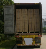 40 feet container load, full and safe