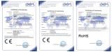 Certificate for led panel light