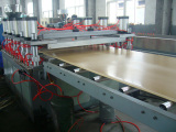 Production of PVC foam board