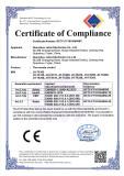 CE Certificate of TX 162 REMOTE CONTROL