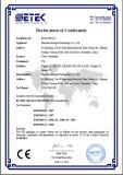 Atomizer CE Certificate