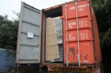 Shipment of air cooled water chiller