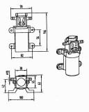 Diagrammatic Drawing For FL-2201, FL-2202, FL-2203,FL-2401, FL-2402
