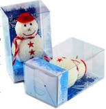 CHRISTMAS GIFTS IN CAKE TOWEL DESIGN AS SNOWMAN YT-P-119