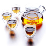 glass tea set / tea pot / glassware