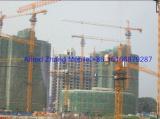 hongda tower crane working at job site