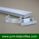 Recessed LED extrusions