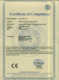 CE Certification of tunnel wired road stud