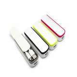 2017 Hot Selling Mini Power Bank 2600mAh with Slider Mobile Phone Battery