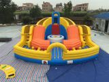 Inflatable muti-play sports game