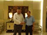 Our General Manager Mr. Liu met with EU customer in Shanghai successfully.