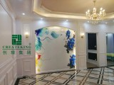 White PVC Wall Panel for Hotel