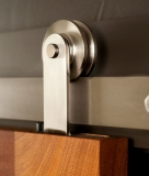 stainless steel wheel sliding door hardware