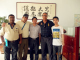 South American customers visit our factory