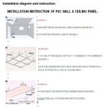 CREATEKING PVC 300/400/600mm Wall Panel Installnation tips