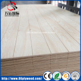 Grooved knotty pine/Okoume commercial plywood for decration