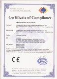 CE Certificate of huale inflatable products-1