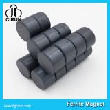 Custom round disc ferrite magnet