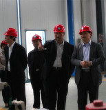 Indonesia clients visiting our factory
